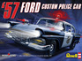Revell 1/25 57 Ford Custom Police Car