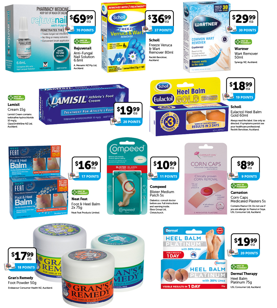 Foot Care Frenzy Sale Products