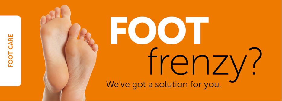 Foot Frenzy? We have a solution for you.
