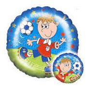 "Football Goal Foil Balloon      18"""