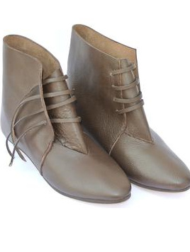 Footwear 2 - 12th to 14th Century Ankle Boots