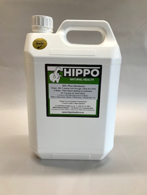 For horses suffering from ill effects of the sun, sunburn and photosensitivity