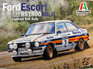 Italeri 1/24 Ford Escort RS 1800 Mk.II Lombard RAC Rally