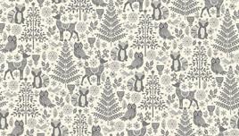 Forest Animals Grey 2125/s