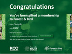 Forest & Bird Gift Membership