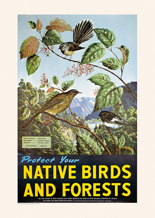 Forest & Bird Railway Posters