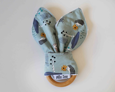 Forest Creatures Bunny Teether