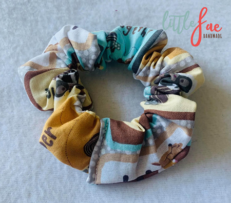 Forest Friends Scrunchie