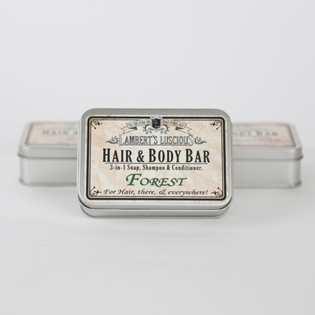 Forest Hair & Body Bar Tin