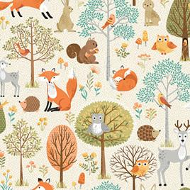 Forest Scene Cream TP-2168-Q