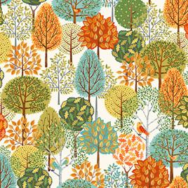 Forest Trees Cream TP-2169-Q