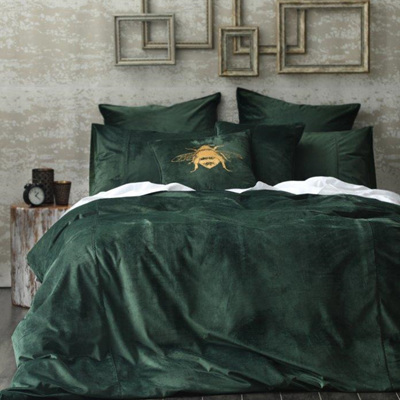 Forest Velvet Duvet Set