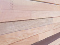 Foreverbeech™ 90x20mm Brushed Engineered Fence or Trellis