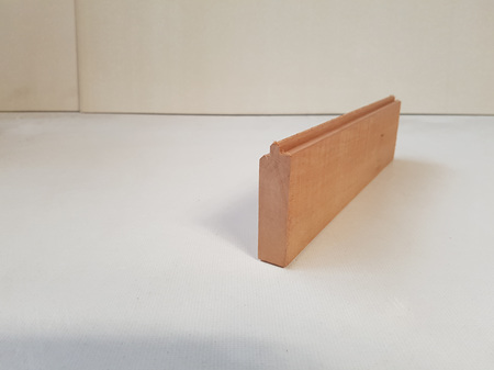 Foreverbeech™ Engineered Box Corner Tongue 70x20mm Brushed Grain Face 5.4m Lengths