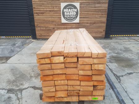 Foreverbeech™ Hardwood Sleepers 200mm x 75mm x 2.4m