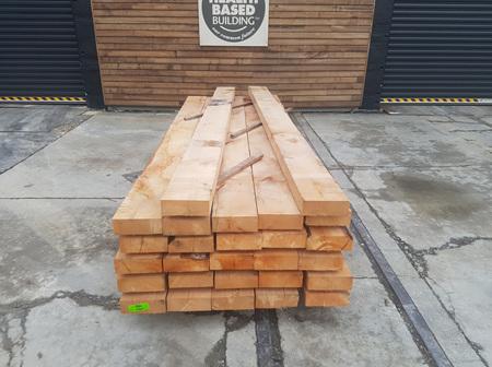 Foreverbeech™ Hardwood Sleepers 200mm x 75mm x 3.0m