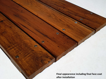 Foreverbeech™ Heritage Pre-Coated Decking 110x23mm