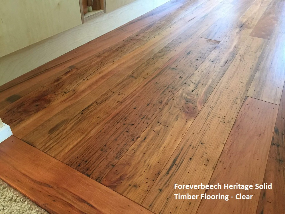 Foreverbeech Heritage Solid Timber Flooring 105x19mm