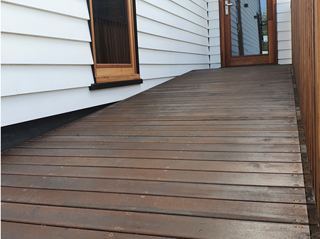 Foreverbeech™ Heritage  Walnut Coated Decking 110x23mm