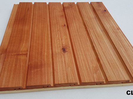 Foreverbeech™ HT48 Engineered Shiplap Cladding Brushed Grain Face 5.4m lengths