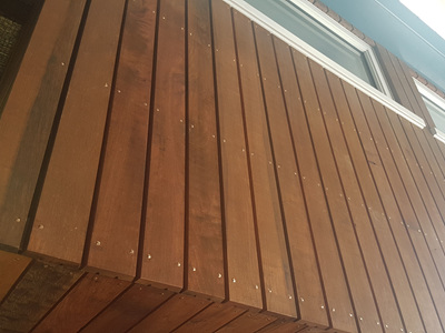 Foreverbeech™ HT91 Rain Screen bandsawn face