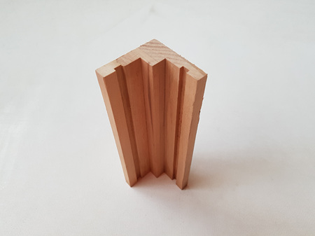 Foreverbeech™ Internal Corner for Vertical Shiplap