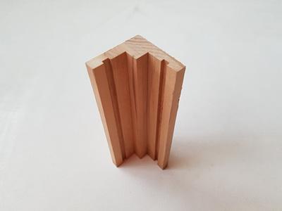 Foreverbeech™ Internal Corner for Vertical Shiplap