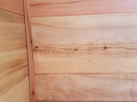 Foreverbeech™ Solid Timber Panelling 85x9 reversible TGV and bandsawn negative detail faces