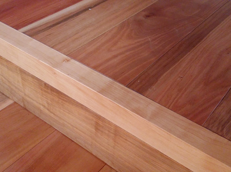 Foreverbeech™ Square Microbevelled Stair Nosing 60x40mm