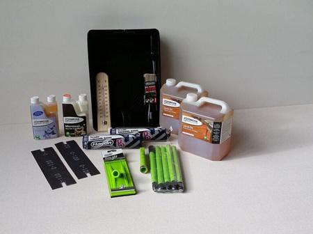 Foreverbreathe™ Clear Coat Resin Oil Finishing Kit American Oak 96sqm