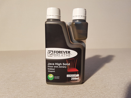 Foreverbreathe™ Coloured High Solid Floor & Joinery Oil 250ml