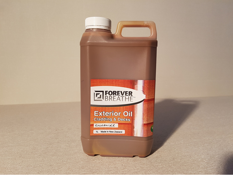 Foreverbreathe Exterior Cladding and Decking Oil - Coloured 1L