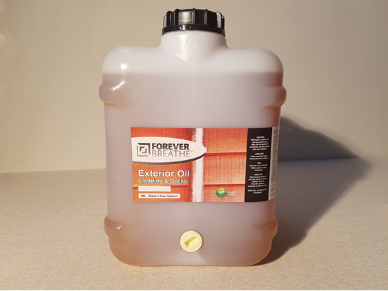 Foreverbreathe Exterior Cladding and Decking Oil - Clear 10L