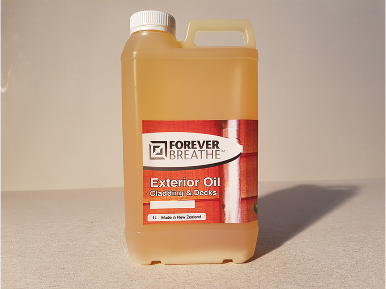 Foreverbreathe Exterior Cladding and Decking Oil - Clear 1L