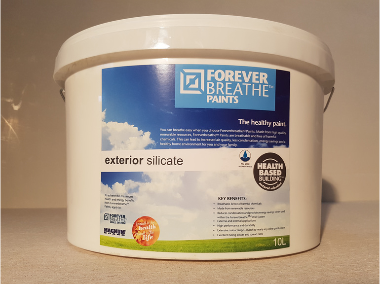 Foreverbreathe Exterior Silicate Paint 10l Health Based
