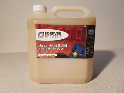 Foreverbreathe™ Hiigh Solid Floor & Joinery Oil 4 litre