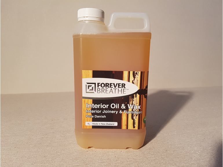 Foreverbreathe Interior Oil and Wax Pure Danish - Clear 1L