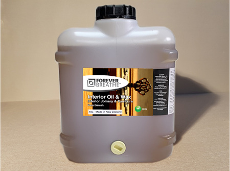 Foreverbreathe™ Interior Oil & Wax - Clear 10L