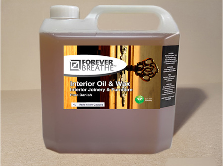 Foreverbreathe™ Interior Oil & Wax - Clear 4L