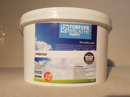 Foreverbreathe™ Interior Wall & Ceiling Paint 10L Black-White Range