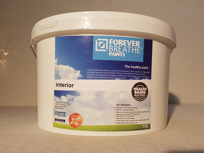 Foreverbreathe™ Interior Wall & Ceiling Paint 10L Brights Range