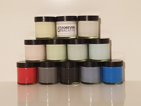 Foreverbreathe™ Interior Wall & Ceiling Paint 50ml Sample Accents Range