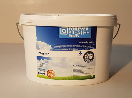 Foreverbreathe™ Interior Wall & Ceiling Paint 5L Black-White Range