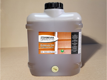 Foreverbreathe™ Oil Top Coat for Factory Coated Earthen 20L