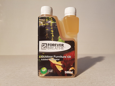 Foreverbreathe™ Outdoor Furniture Oil 500ml