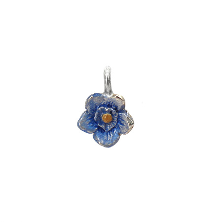 Forget Me Not Flower Charm