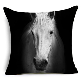 Forward Facing Horse Cushion Cover