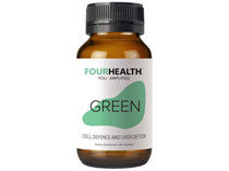 Four Health Green 600Mg 60 Caps