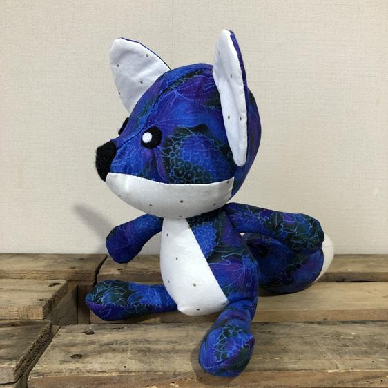 Fox - Dark Blue