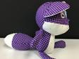 Fox - Purple Spots